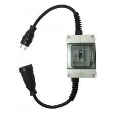 Vikavirtasuoja-adapteri 16A/30mA